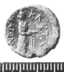 2694de7c7a coin from Catania with inscribed Greek ...
